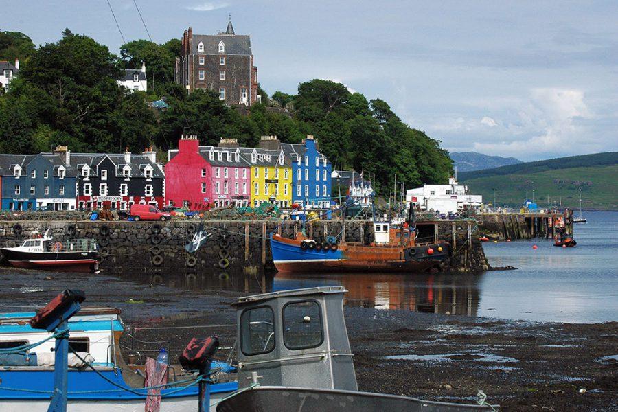 Auf unserer Bahnreise durch Schottland koennen Sie einen Tagesausflug zur Insel Mull unternehmen.