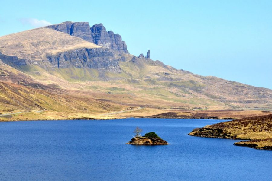 Drive yourself on a road trip through Scotland for 8 days