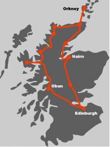 Vor allem die abgelegenen Regionen kommen bei dieser grossen Schottlandtour auf ihre Kosten.