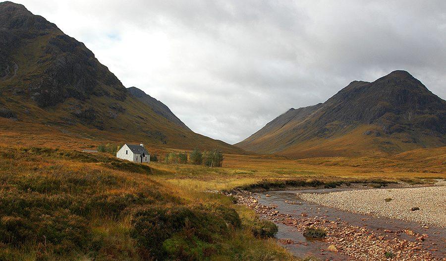 Der letzte Hoehepunkt dieser Auto Rundreise durch Schottland ist die Schlucht von Glencoe.