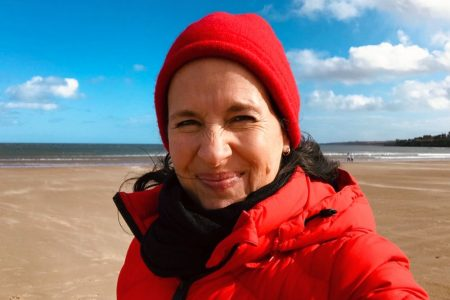 Reiseleiterin Tanja Rensch fuehrt unsere Reisen in Schottland