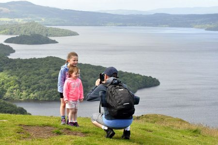 Holidays with kids in Scotland